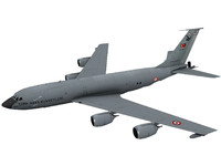 kc-135 tanker air 3D model