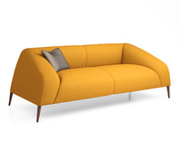 sebastian 3-seater sofa 3D model