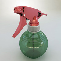 3D spray bottle