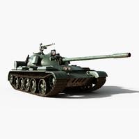 tank t-55 model
