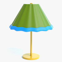 cartoon lamp 3D