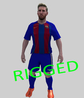 Messi Rigged