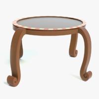 3D cartoon table