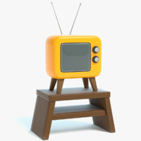 3D cartoon tv