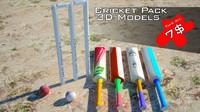 3D criket pack