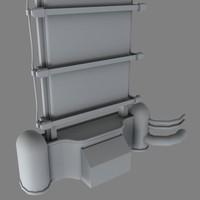 scifi power indicator 3D model