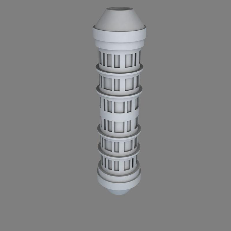 scifi reactor core b 3D model