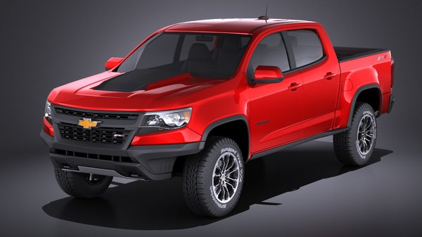 chevrolet colorado zr2 3D