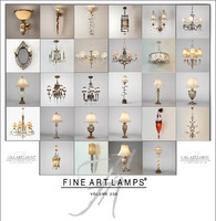 fine art lamps collected 3D