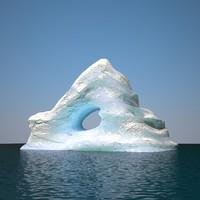 3D iceberg v2 model