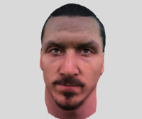 Ibrahimovic realistic face