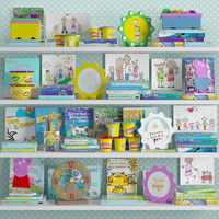 Kid room decoration set