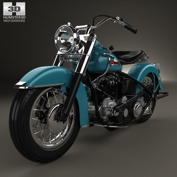 Turbo Your Harley: 3D Model Harley Davidson E