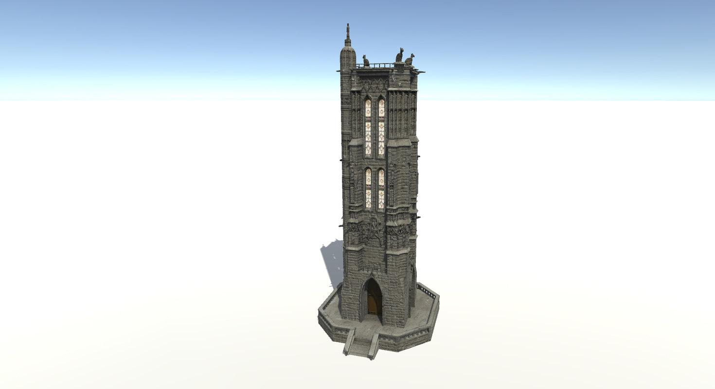 3D building tour saint