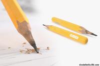 old pencil 3D
