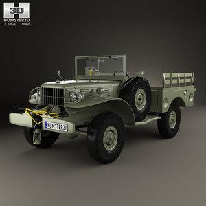 3D dodge wc-52 wc model