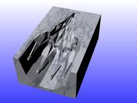 relief cnc 3D model
