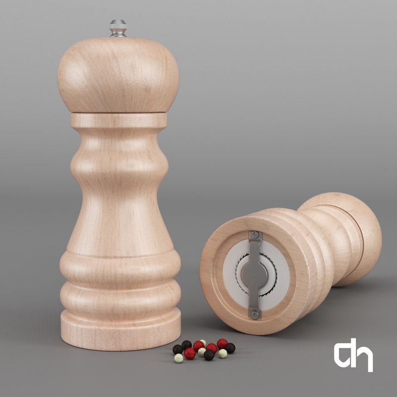 pepper salt shaker 3D model