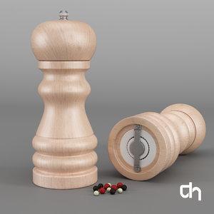 pepper salt shaker 3D model