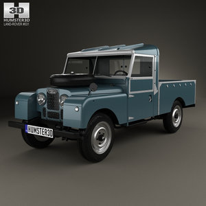 land rover 107 3D model