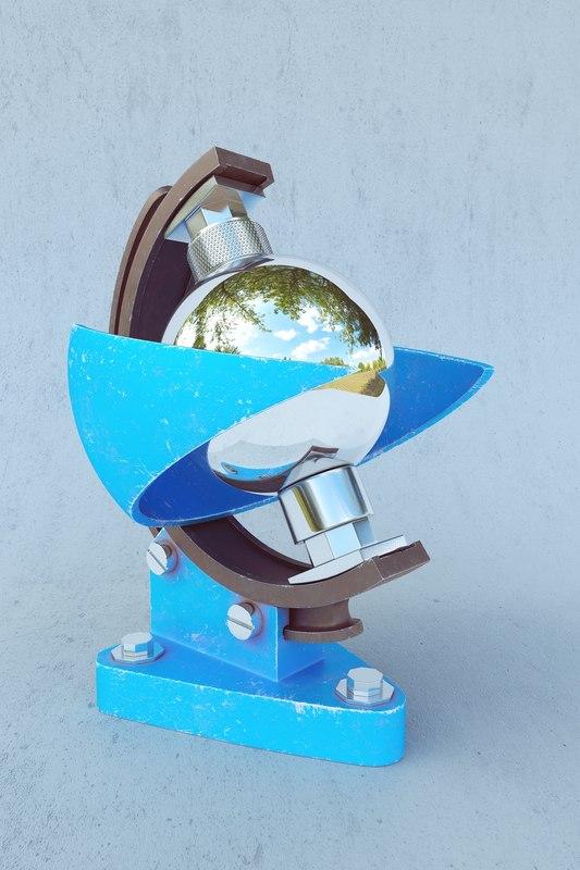 3D solar reflected model