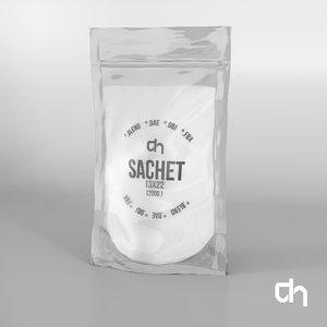 3D sachet 13x22cm 200 grams