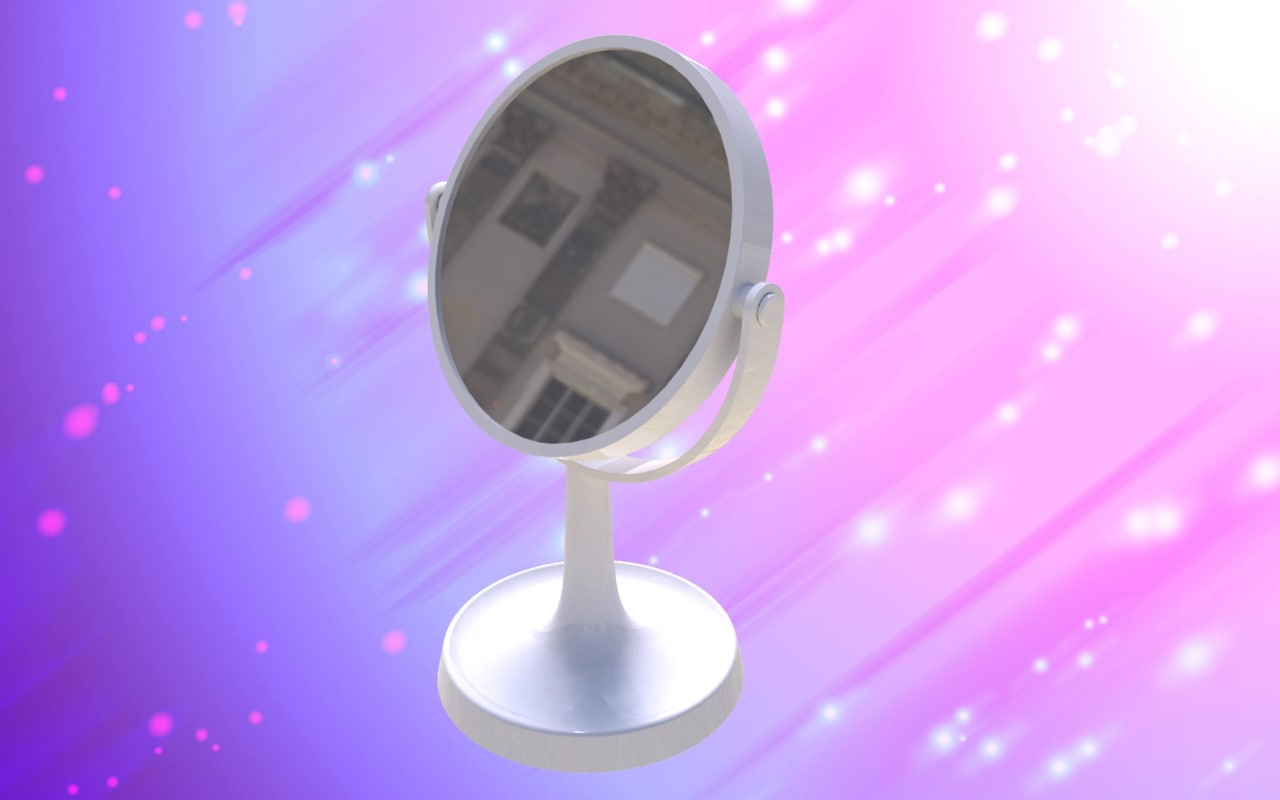 3D mirror make model