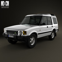3D discovery land rover