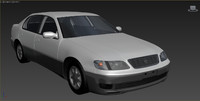 toyota aristo jzs147 3D model