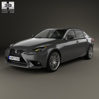 3D 2013 lexus xe30 model