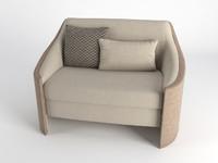 big hug armchair 3D model