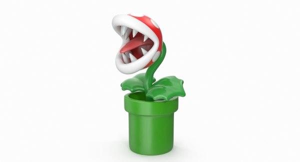 piranha plant 3D