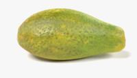 3D model papaya