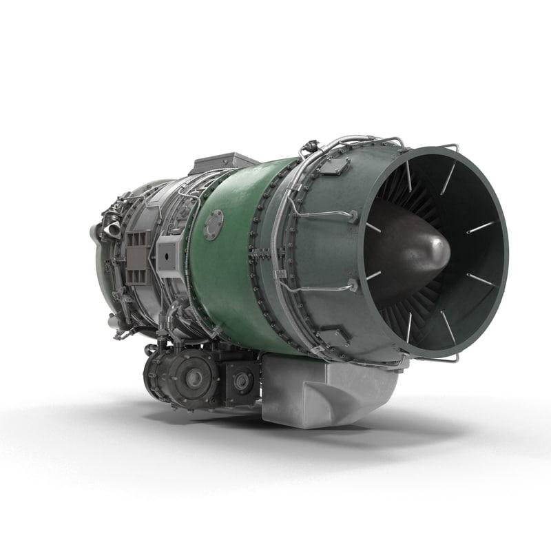 Turbofan Engines 3D Models Collection 3