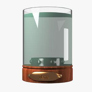3D jar head tv
