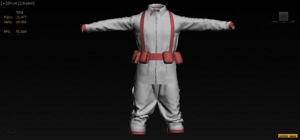 soilder wear 3D