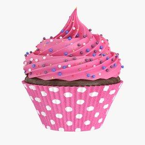 3D cupcake candy gumdrops
