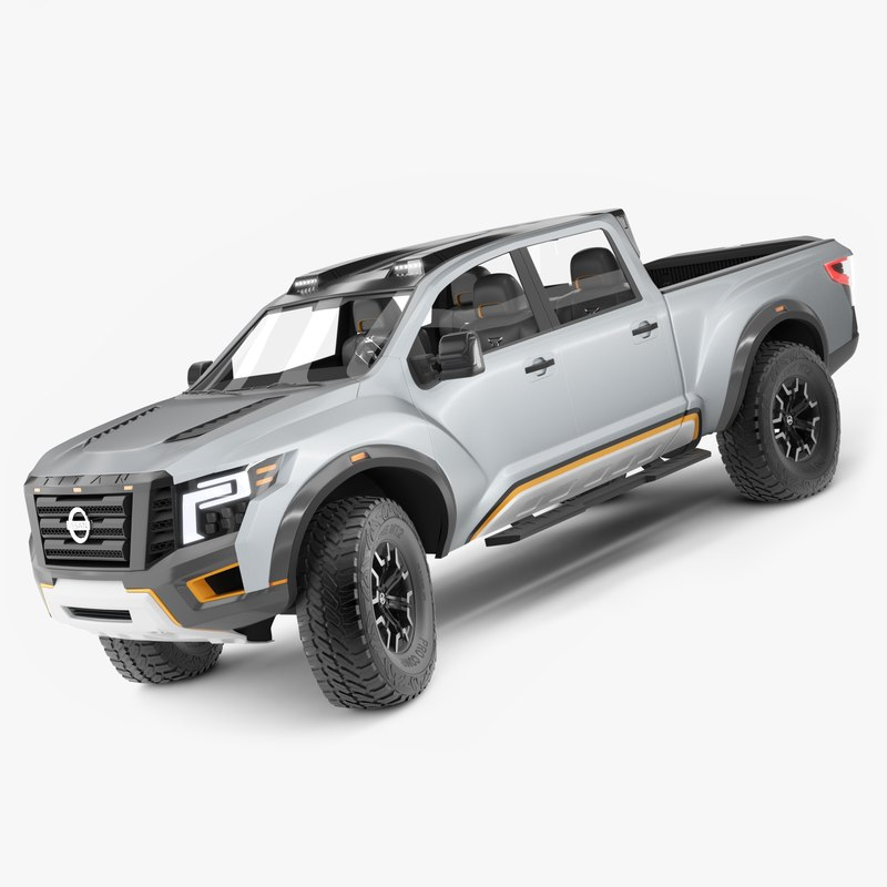 nissan titan warrior rigged 3d model 1144172 turbosquid. Black Bedroom Furniture Sets. Home Design Ideas
