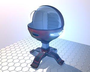 pod flame 3D model