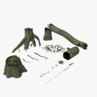 plant vegetation 3D