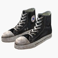 allstar shoes sportswear 3D model