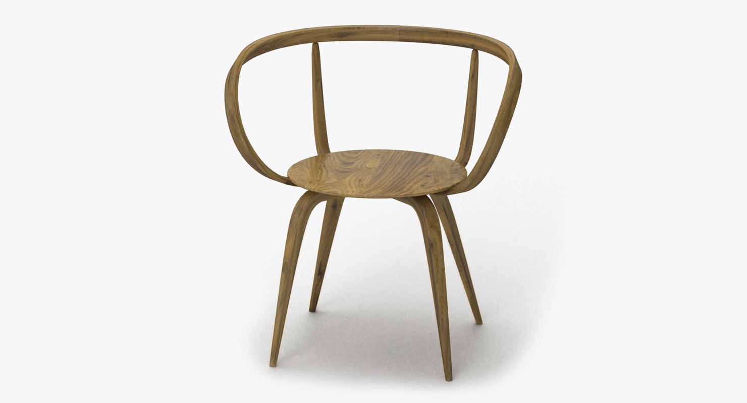 Pretzel Chair 3D Model
