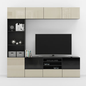 3D tv stand ikea