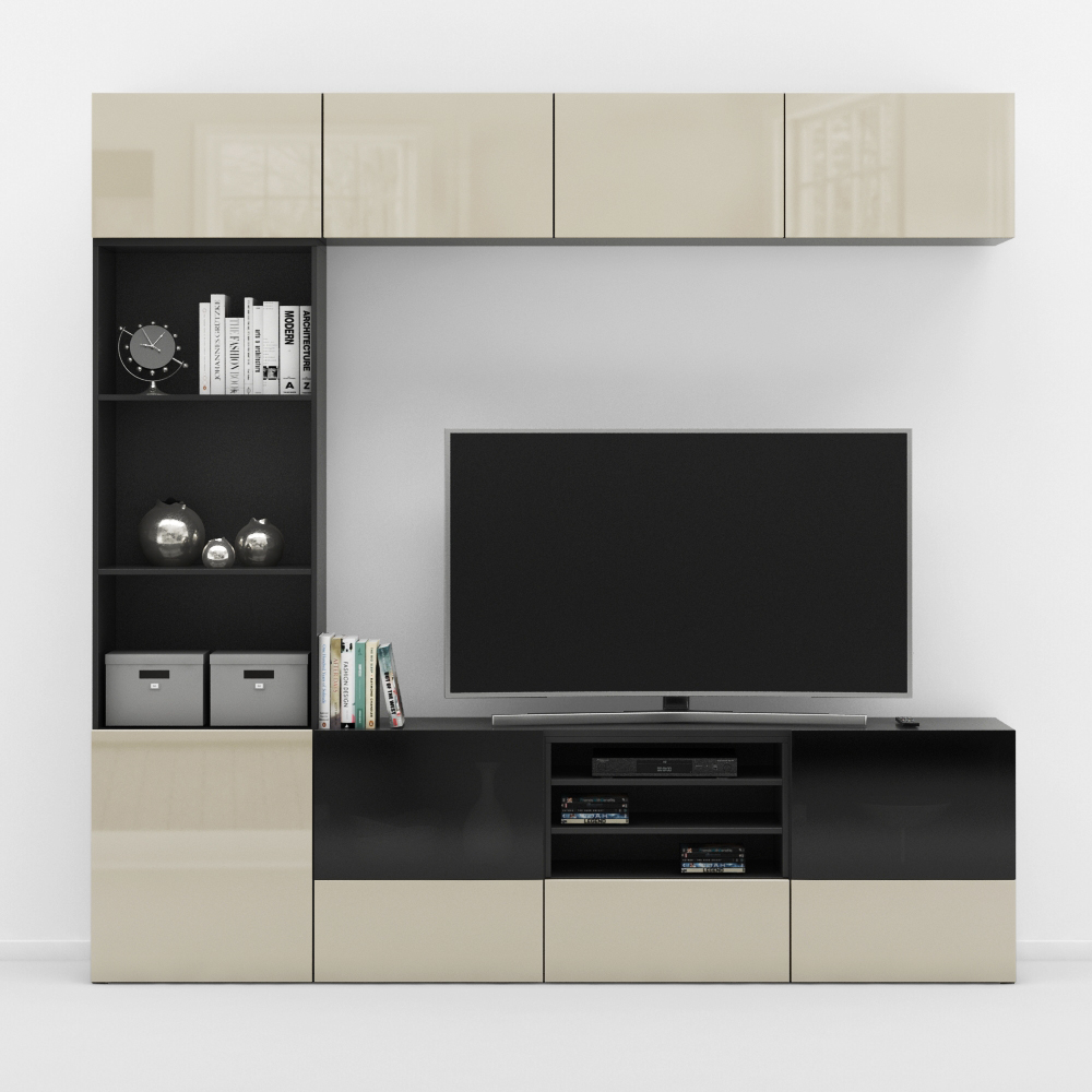 promo code f3642 ef3ba Ikea Besta TV stand