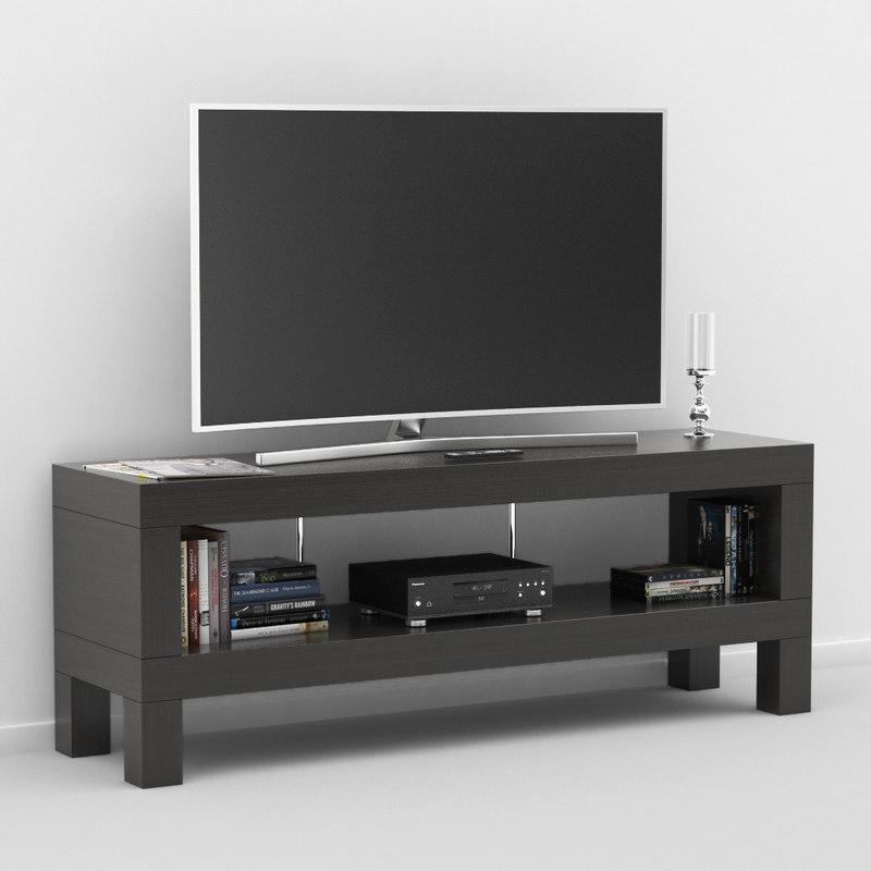 3d Tv Bench Ikea Model 1144235 Turbosquid