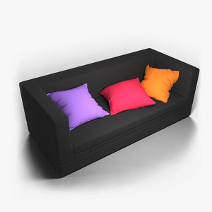 pillow pil 3D model
