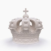 swedish crown 3D