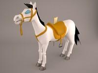 gipsy pony 3D model