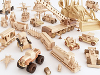 3D wooden toys