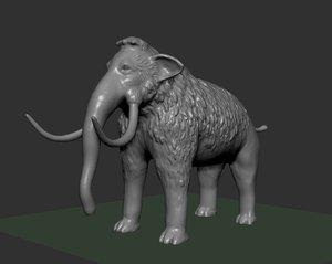 mammoth 3D model